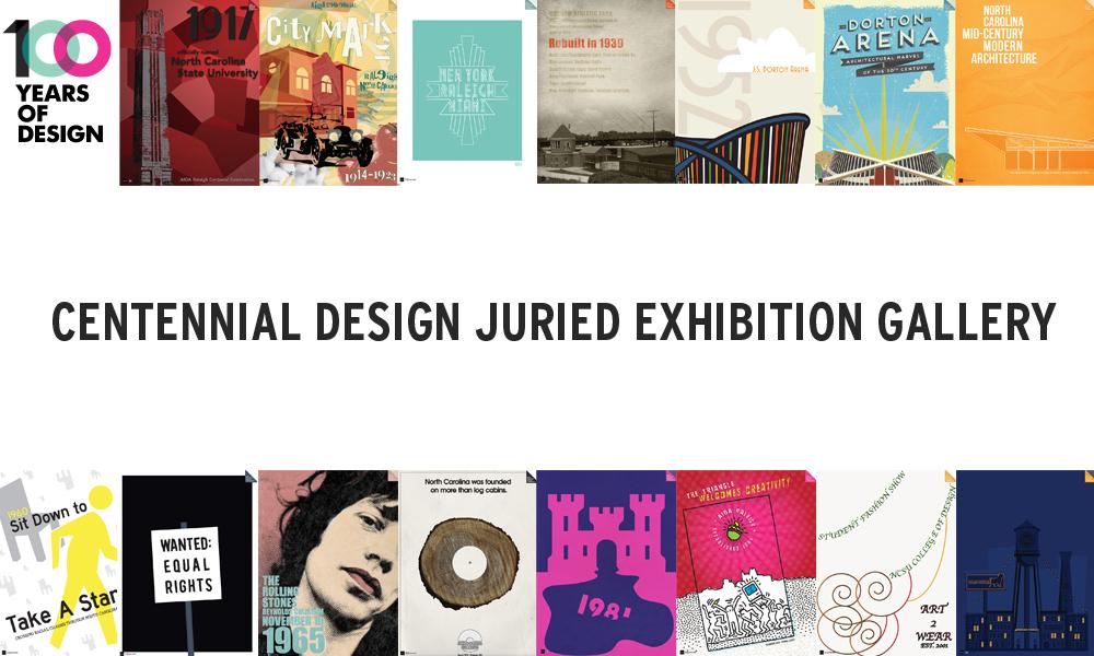 FF: AIGA Centennial Juried Poster Exhibition @ Designbox | Raleigh | North Carolina | United States